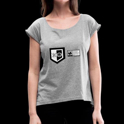 T shirt ScKFred ESRB - Women's Roll Cuff T-Shirt