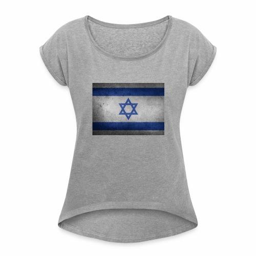 Israel - Women's Roll Cuff T-Shirt