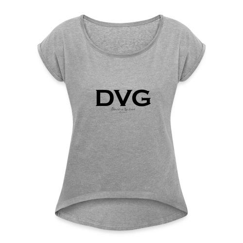 DVG Logo Limited - Women's Roll Cuff T-Shirt