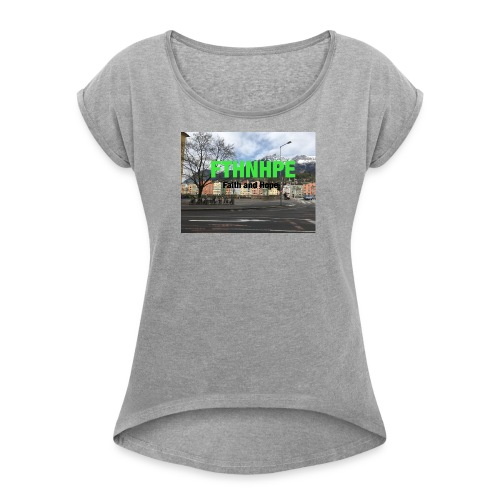 IMG 1049 - Women's Roll Cuff T-Shirt