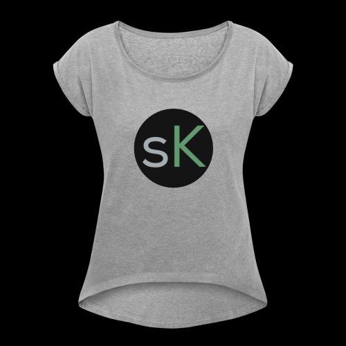 studioKorner Casual - Women's Roll Cuff T-Shirt