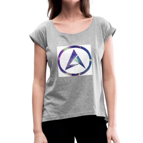 New AA99 logo - Women's Roll Cuff T-Shirt