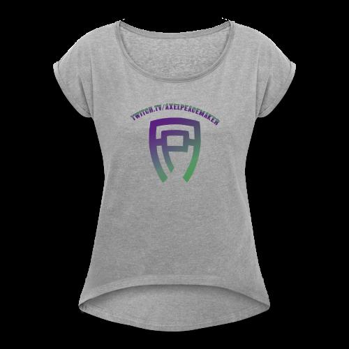 Axel Peacemaker Merch - Women's Roll Cuff T-Shirt