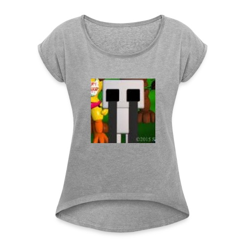Gamerman8441's team - Women's Roll Cuff T-Shirt