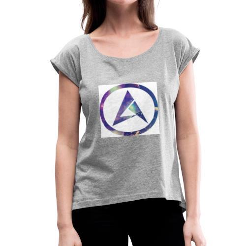 New AA99 logo - Women's Roll Cuff T-Shirt