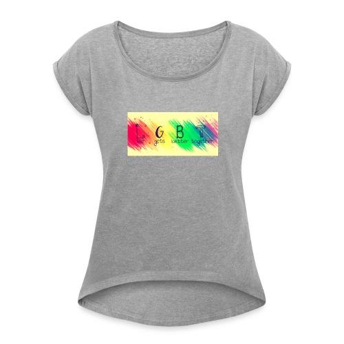 LGBTQ+ - Women's Roll Cuff T-Shirt