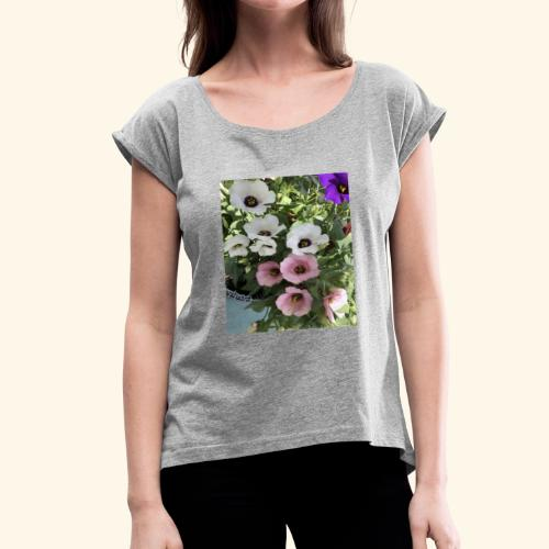 4FA23FC3 484D 4B1F A8CC 411196E8AC3D - Women's Roll Cuff T-Shirt