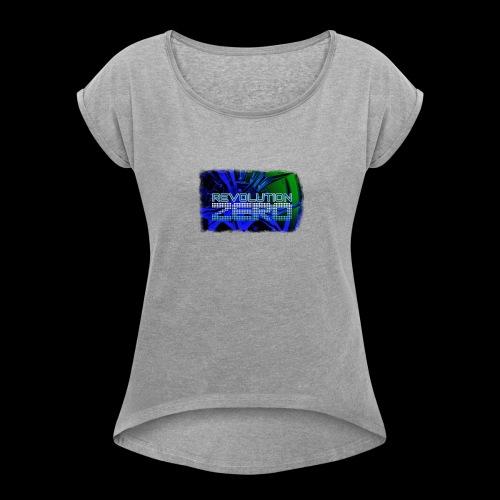 - X1K + - Women's Roll Cuff T-Shirt