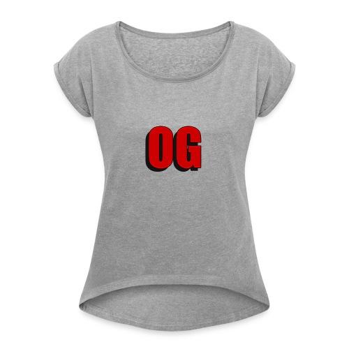 OG merch line - Women's Roll Cuff T-Shirt
