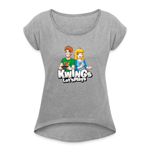 Knightwingletsplays Fan Shirt - Women's Roll Cuff T-Shirt