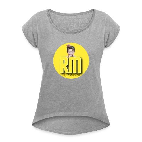My BTS Instagram account - Women's Roll Cuff T-Shirt
