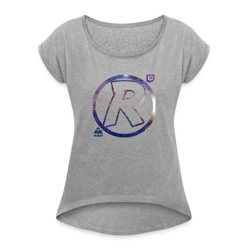 RaG3 Union Galaxy` - Women's Roll Cuff T-Shirt