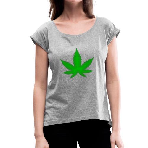 Green Heaven - Women's Roll Cuff T-Shirt