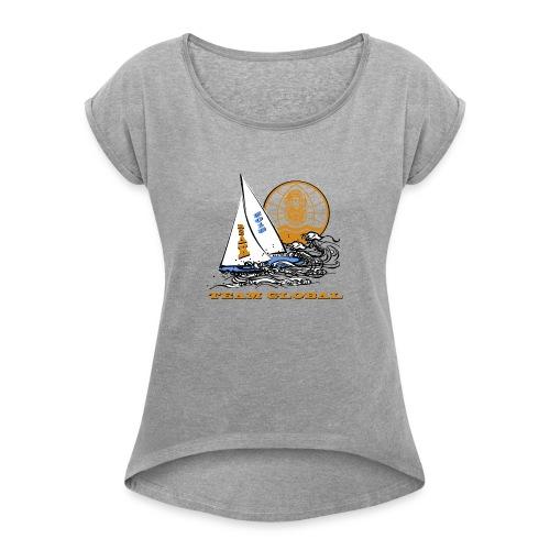 2018 R2AK Team Global - Women's Roll Cuff T-Shirt