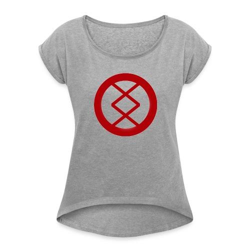 Medical Cross - Women's Roll Cuff T-Shirt