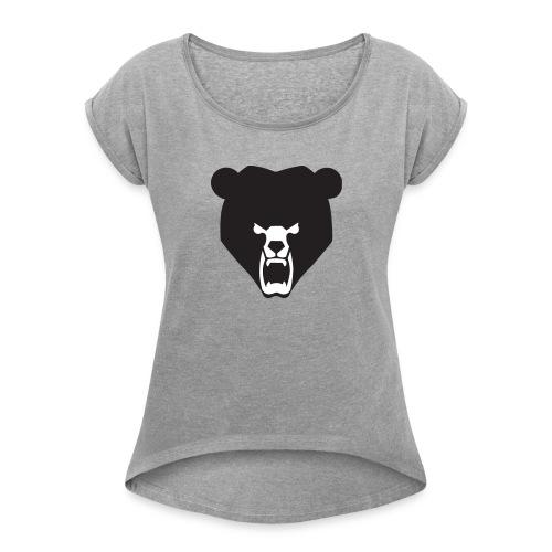 BeartheMLGpro Logo Collection - Women's Roll Cuff T-Shirt