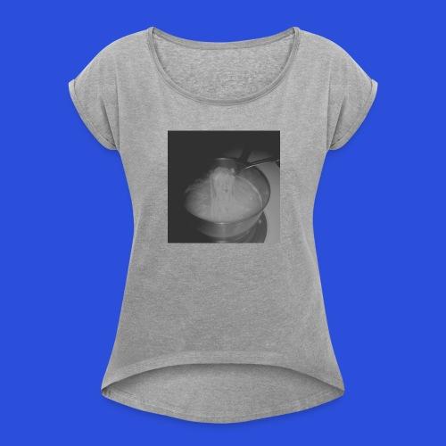 Ramen - Women's Roll Cuff T-Shirt
