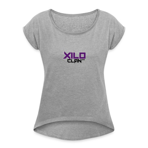 Official Xilo Clan™ - Women's Roll Cuff T-Shirt