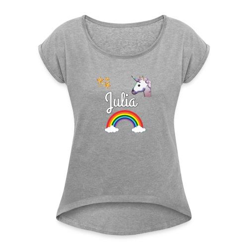 Julia - Women's Roll Cuff T-Shirt