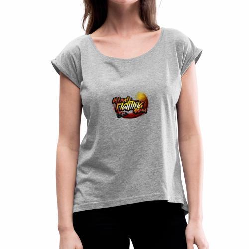 LOGO UFA2018 V2 CLEAR - Women's Roll Cuff T-Shirt