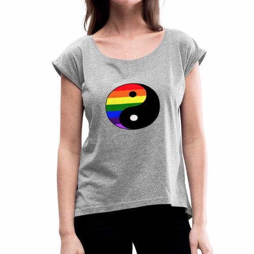 Equilibrium - Women's Roll Cuff T-Shirt