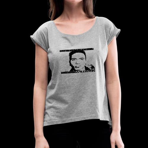 Mugshot - Women's Roll Cuff T-Shirt