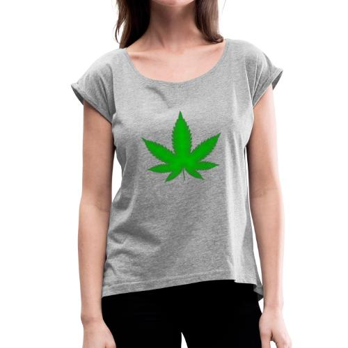Green Heaven - Women's Roll Cuff T-Shirt