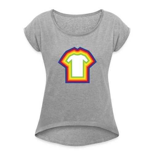shirtception - Women's Roll Cuff T-Shirt