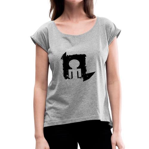Black World - Women's Roll Cuff T-Shirt