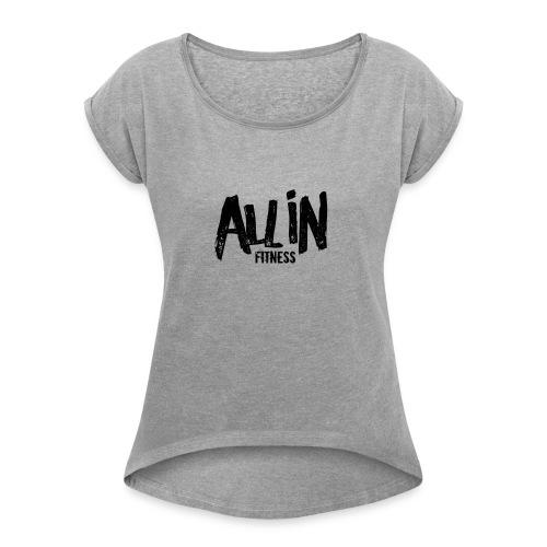 clearsticker - Women's Roll Cuff T-Shirt
