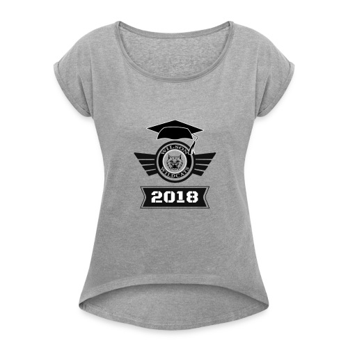 9E478854 EECB 482C 89BC 2E8D5D0264E7 - Women's Roll Cuff T-Shirt