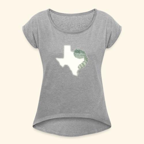 Cody Freeman Music Logo - Women's Roll Cuff T-Shirt