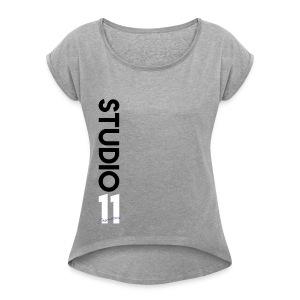Verticle Studio 11 Cosmetics - Women's Roll Cuff T-Shirt
