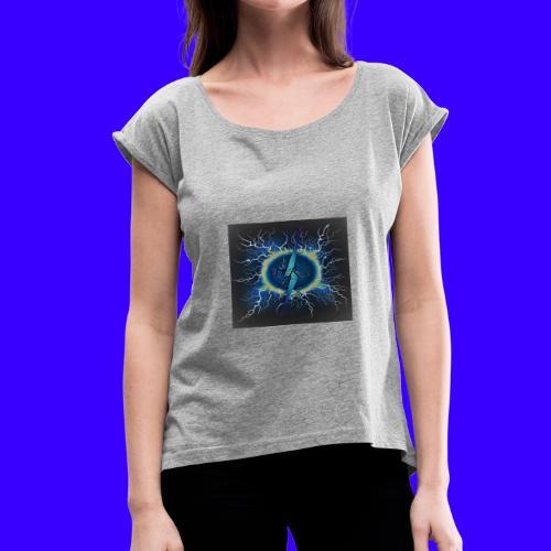HR20 MERCHANSIDE - Women's Roll Cuff T-Shirt