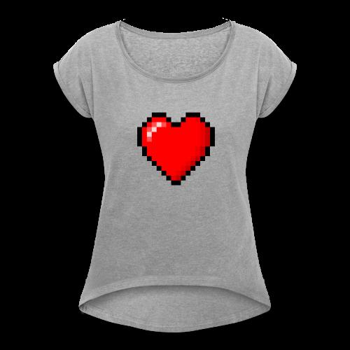 togheart - Women's Roll Cuff T-Shirt