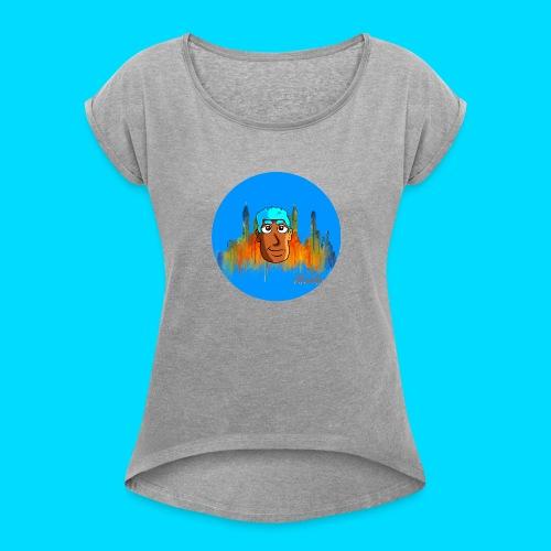TDJ Character - Women's Roll Cuff T-Shirt