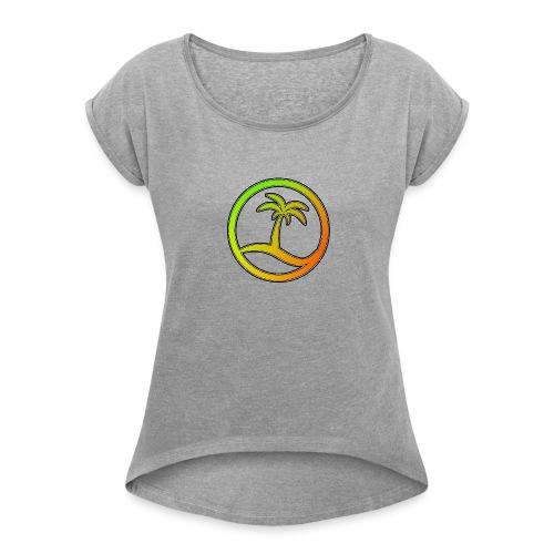 Euphoria Logo - Women's Roll Cuff T-Shirt