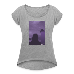 PURPLE PROMISE - Women's Roll Cuff T-Shirt