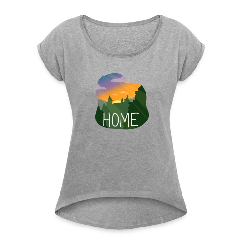 Home - Women's Roll Cuff T-Shirt