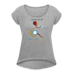 Cosplay For All: IronMan - Women's Roll Cuff T-Shirt