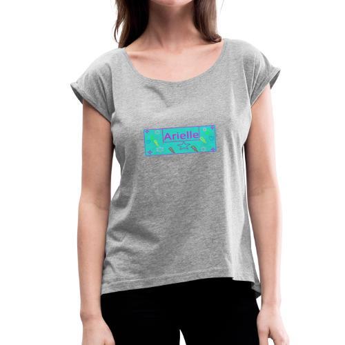 Arielle MN - Women's Roll Cuff T-Shirt