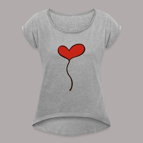 Surprise - Women's Roll Cuff T-Shirt