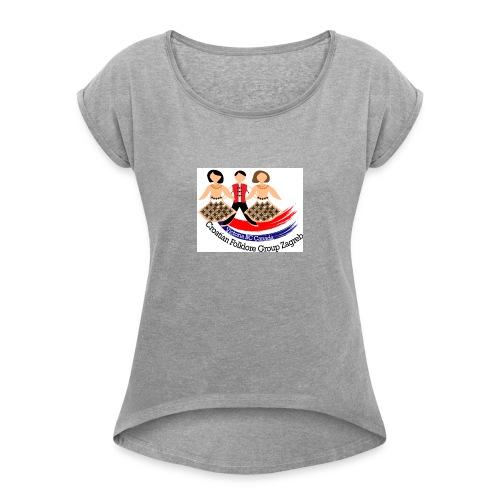 kolo logo ver2 - Women's Roll Cuff T-Shirt