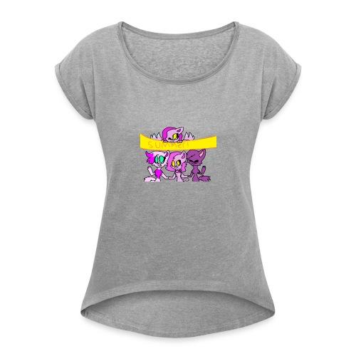 MARCH - Women's Roll Cuff T-Shirt