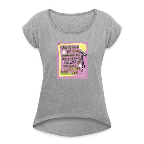 FBCC442A A487 40BF A45D EE536F423808 - Women's Roll Cuff T-Shirt
