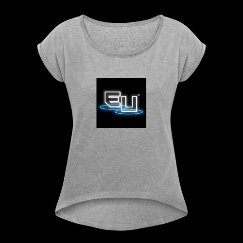Ethereal Universe - Women's Roll Cuff T-Shirt
