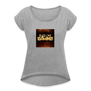 PYRO shirts sweaters cases etc - Women's Roll Cuff T-Shirt
