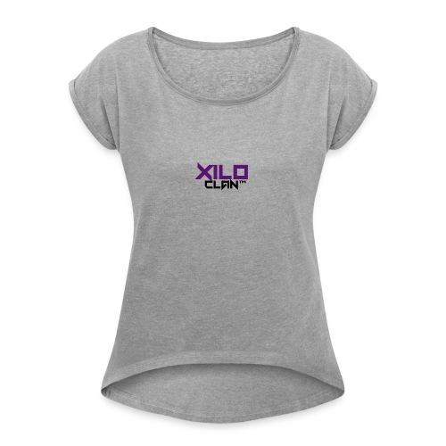Official Xilo Clan™ - Women's Roll Cuff T-Shirt