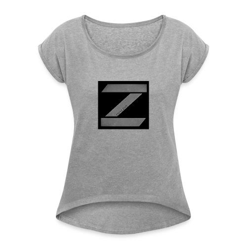 zoniczhd - Women's Roll Cuff T-Shirt