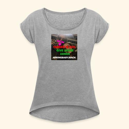 A movement - Women's Roll Cuff T-Shirt